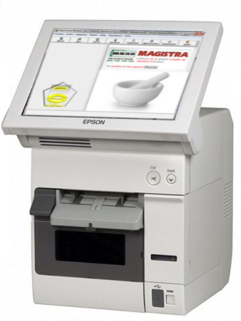 Epson TM-C3400-LT TERMINALE PER ETICHETTE STAND-ALONE